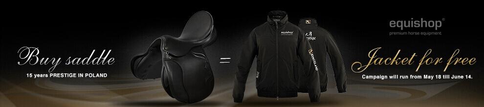 Buy a saddle and pick up a jacket Kingsland.